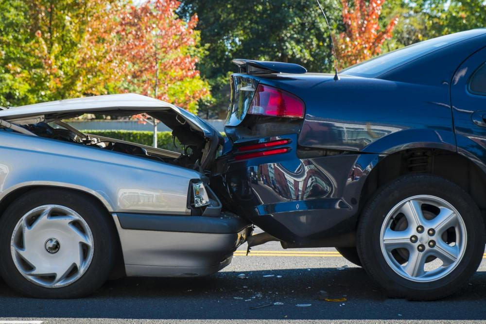 back pain from auto accident